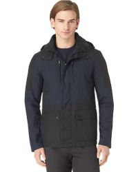 Calvin Klein Colorblock Hooded Jacket - Lyst
