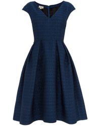 Temperley London Marino Structured Dress - Lyst