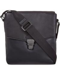 Hugo Boss Leather Messenger Bag - For Men - Lyst