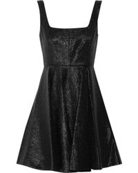 Jill Stuart Kaitlyn Metallic-effect Wool-blend Dress - Lyst