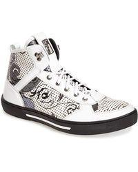 Versace Baroque High-Top Sneakers - Lyst