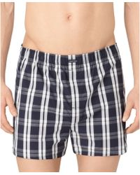 Calvin Klein Classic Woven Boxers 3pack - Lyst