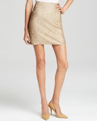 Joie Skirt - Bricia Sequin Embellished Silk - Lyst