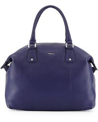 Furla Raffaela Leather Satchel Bag - Lyst