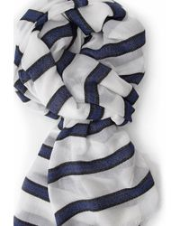 Forever 21 - Striped Frayed Scarf - Lyst
