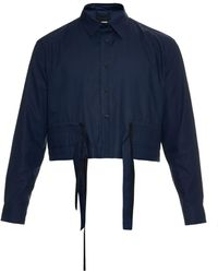 Björn Borg - Multi-strap Cropped Shirt - Lyst