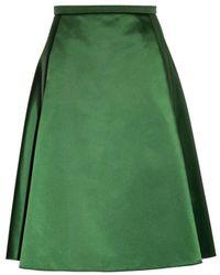 Acne Studios 'Keals' Skirt green - Lyst