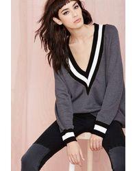 Nasty Gal Boys Club Sweater  Charcoal - Lyst