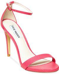 Steve Madden Women'S Stecy Two-Piece Sandals - Lyst
