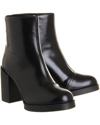 Cheap Monday - Layer Zip Boot - Lyst