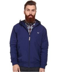 Fred Perry Hooded Sailing Jacket - Lyst
