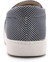Matt Bernson - Finn Slip On Sneakers - Deep Ocean/white/white - Lyst