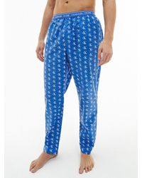 Calvin Klein Pyjama-Hose - CK One - Blau