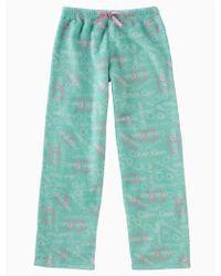 CALVIN KLEIN 205W39NYC - Girls Plush Logo Pants - Lyst