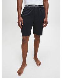 Calvin Klein Pyjamashort - Ck Active Mesh - Zwart