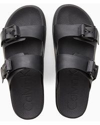 Calvin Klein Sliders - Zwart