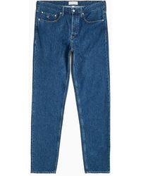 Calvin Klein Leather-free Baggy Jeans - Blauw