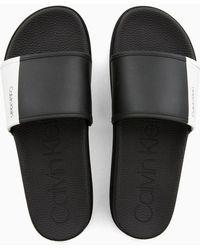 Calvin Klein - Sliders - Lyst