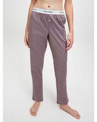 Calvin Klein Pyjamabroek - Grijs