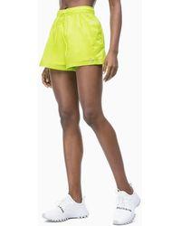 Calvin Klein Sport-Shorts - Gelb