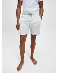 Calvin Klein Pyjamashort - Grijs