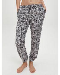 Calvin Klein Pyjamabroek - Bruin
