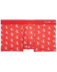 Calvin Klein Boxershort - CK ONE - Rot
