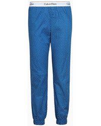 Calvin Klein Pyjamabroek - Blauw
