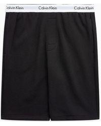 Calvin Klein Pyjamashort - Modern Cotton - Zwart