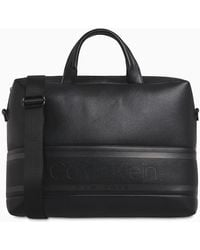 Calvin Klein Laptop Bag - Black