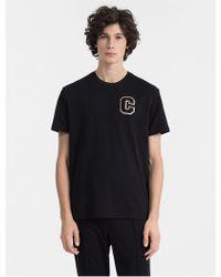 31ba585c5a318 Lyst - Calvin Klein Ck One Slim Fit Iridescent T-shirt in Black for Men