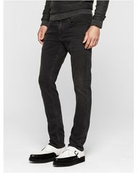 Calvin Klein Jeans Slim Straight Vintage Black Jeans