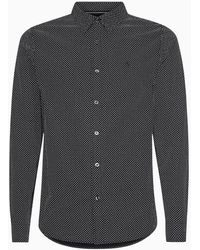 Calvin Klein - Slim Printed Shirt - Lyst