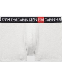 Calvin Klein Boxershort - 1981 Bold - Natur