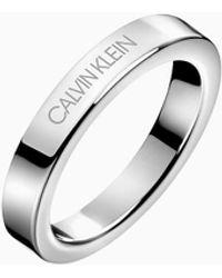 Calvin Klein Ring - Hook - Metallic