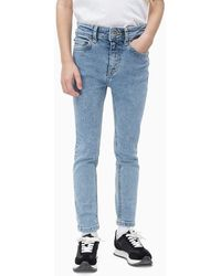Calvin Klein Skinny Jeans - Blauw