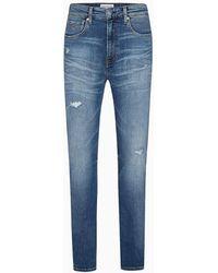 Calvin Klein Ckj 016 Skinny Jeans - Blauw
