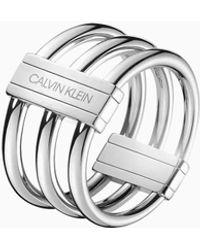 Calvin Klein Ring - In Sync - Metallic