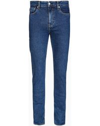 Calvin Klein Utility Slim Tapered Jeans - Blue