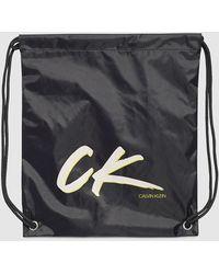 Calvin Klein Kinder-Strandtasche - CK Wave - Schwarz