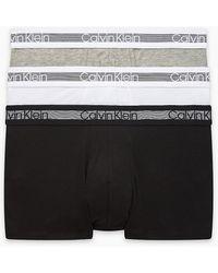 Calvin Klein Boxershort Cooling (set Van 3) - Zwart