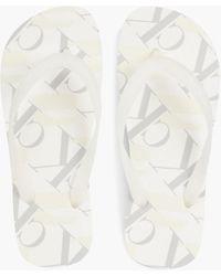 Calvin Klein - Flip-Flops - Lyst