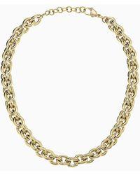 Calvin Klein Necklace - Statement - Yellow