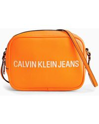 Calvin Klein Crossbody Bag - Orange