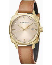 Calvin Klein Horloge - Fraternity - Geel