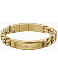 Calvin Klein Armband - Valorous - Geel
