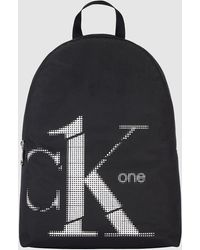 Calvin Klein - Gerecyclede Ronde Rugzak - Ck One - Lyst