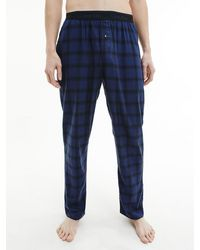 Calvin Klein Pyjama-Hose - Blau