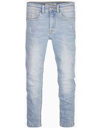 Calvin Klein Tapered Jeans - Blauw