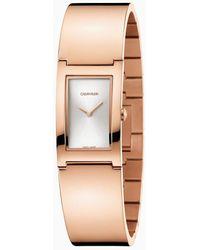 Calvin Klein Horloge - Polished - Roze